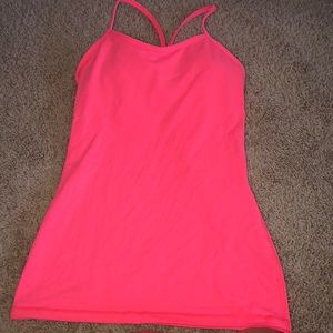 Lulu lemon power Y tank